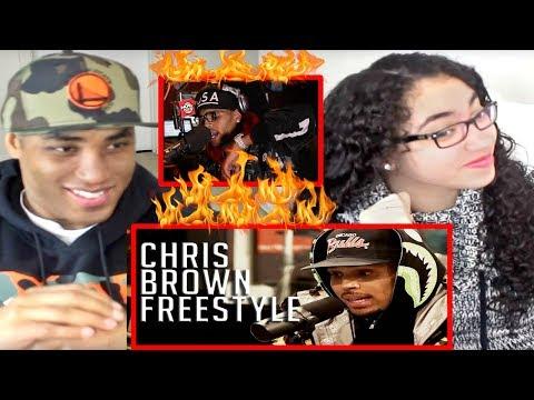 CHRIS BROWN FREESTYLES ON FUNK FLEX!!! REACTION   Chris Brown Freestyles Started from the Bottom
