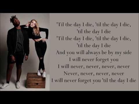 Zara Larsson ~ Never Forget You ft. MNEK ~ Lyrics