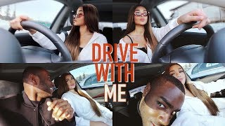 DRIVE WITH ME ♡ my playlist, special guest + addressing comments