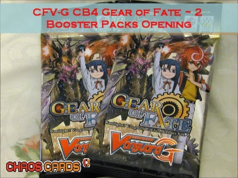 Cardfight!! Vanguard - G-CB04 : Gear of Fate - Clan Booster (7 cards)