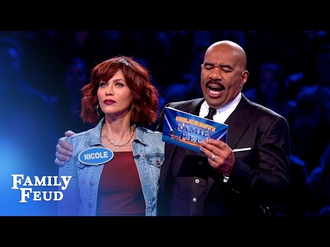 Susan Parker gets a BIG score in Fast Money!   Celebrity Family Feud