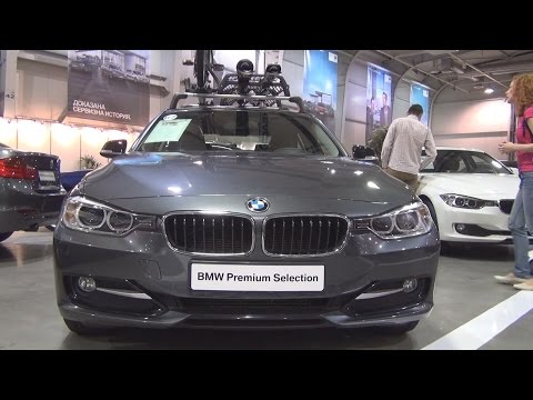 BMW 316d Sedan (2015) Exterior and Interior in 3D