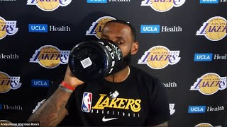 LeBron James Postgame Interview | Clippers vs Lakers | July 30, 2020