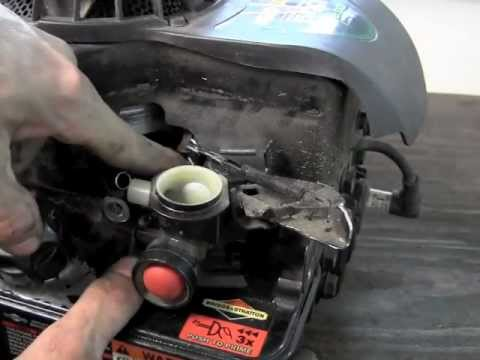 How To Replace The Diaphragm On Briggs And Stratton Youtube