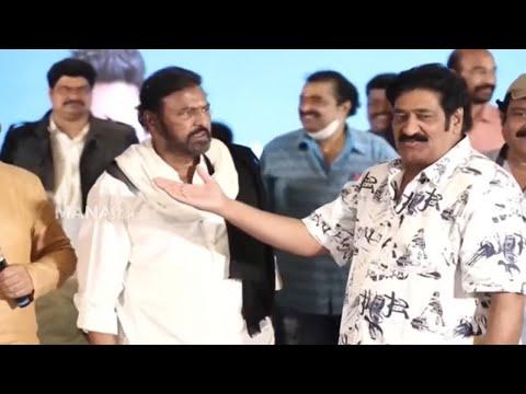 Mohan Babu expresses angry over comedian Raghu Babu for this reason