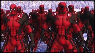 10,000 Deadpools vs. 15,000 Storm-troopers!