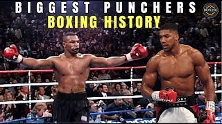 BIGGEST PUNCHERS IN BOXING HISTORY