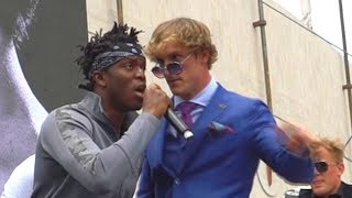 KSI vs LOGAN PAUL BEHIND THE SCENES & MORE (Vikkstar Vlog)