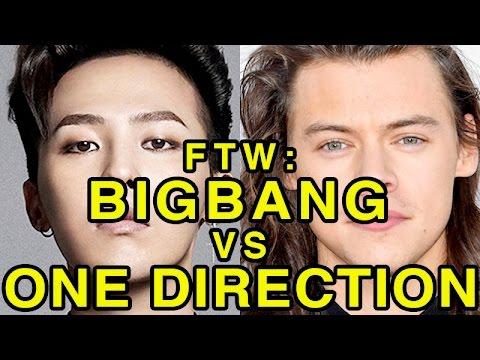 For the Win: BIGBANG vs One Direction