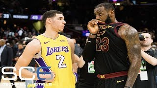 Michael Smith isn't impressed by leaked comments between LeBron James and Lonzo Ball | SC6 | ESPN