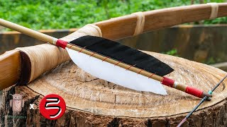 how to make the bamboo arrow | 如何做竹箭 | 製弓 #055