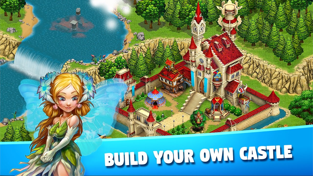 เล่น Fairy Kingdom: World of Magic on PC 2