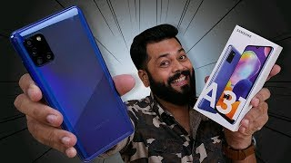 Samsung Galaxy A31 Unboxing & First Impressions ⚡⚡⚡5000mAh Battery, 48MP Quad Camera & More