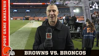 A Mile High Nail-Biter vs. Broncos: Postgame Analysis | Cleveland Browns