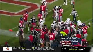 Ole Miss - Mississippi State Brawl 2018 Egg Bowl