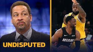 Chris Broussard on LeBron & D-Wade's emotional final regular season meeting | NBA | UNDISPUTED
