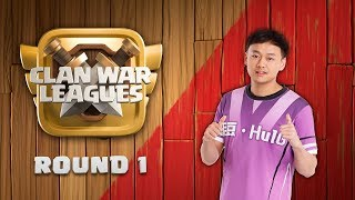 Clan War Leagues Season 3 - Round 1 - Clash of Clans TH12 Pro Attacks