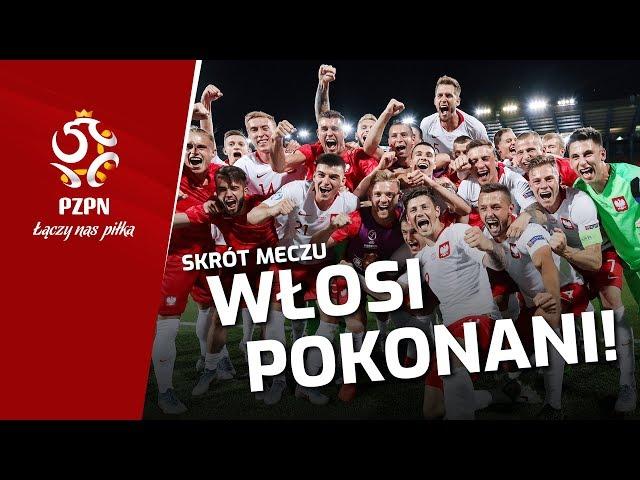 Włochy U21 0-1 Polska U21 [SKRÓT MECZU]