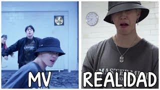 [Sub español] 'BTS MIC DROP' Video musical VS Realidad #2