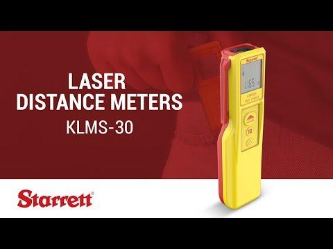 Starrett  KLMS-30 Laser Distance Meter