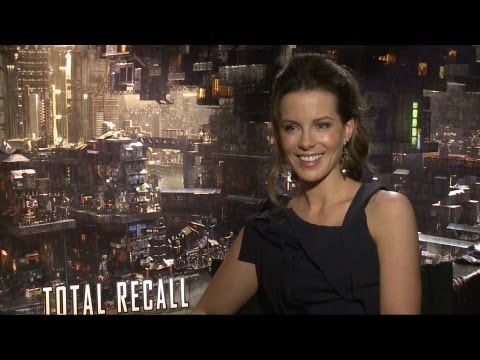 'Total Recall' Kate Beckinsale Interview