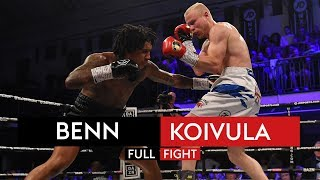 FULL FIGHT! Conor Benn vs Jussi Koivula