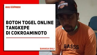 Botoh Togel Online Tangkepe Di Cokroaminoto