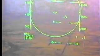 US Air Force F-15 engine fire, runway overshoot and ejection
