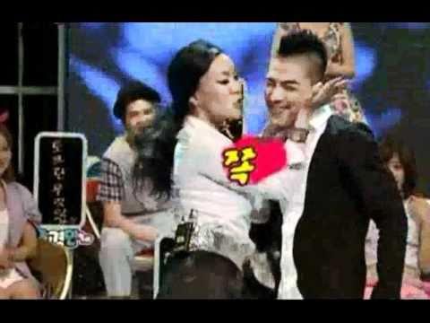 TAEYANG - 태양  various styles of dancing and kissing performance with Chung, Juree comedian woman