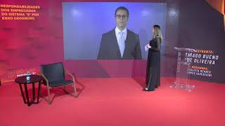 """Entrevista com o professor Thiago Bueno no XVII Núcleo Nacional do Sistema """"S"""""""