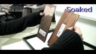 Waterproof vs. Water Resistant Flooring - The Aquarium Test