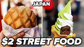 $2 Street Food In Japan