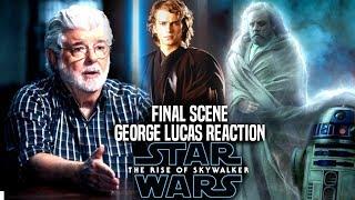 George Lucas Reaction To The Rise Of Skywalker Final Scene! (Star War Episode 9)