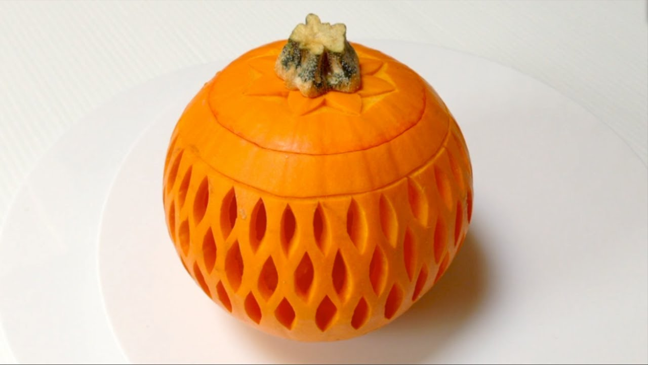 Beautiful Lantern Pumpkins Style - Beginners Lesson 51 By ...