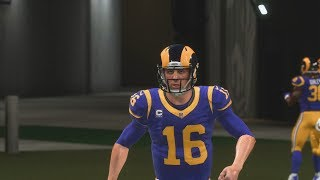 NFL Thursday Night Football 9/27 Minnesota Vikings vs Los Angeles Rams NFL Week 4 | Madden 19