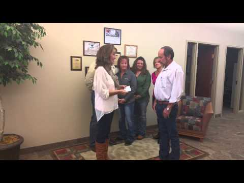 16th Annual Bestway Concrete & Aggregate Charity Golf Tournament Donation Presentation