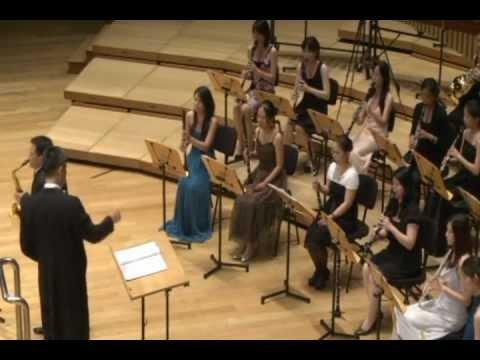 Saxophone Concertino de Satoshi Yagisawa