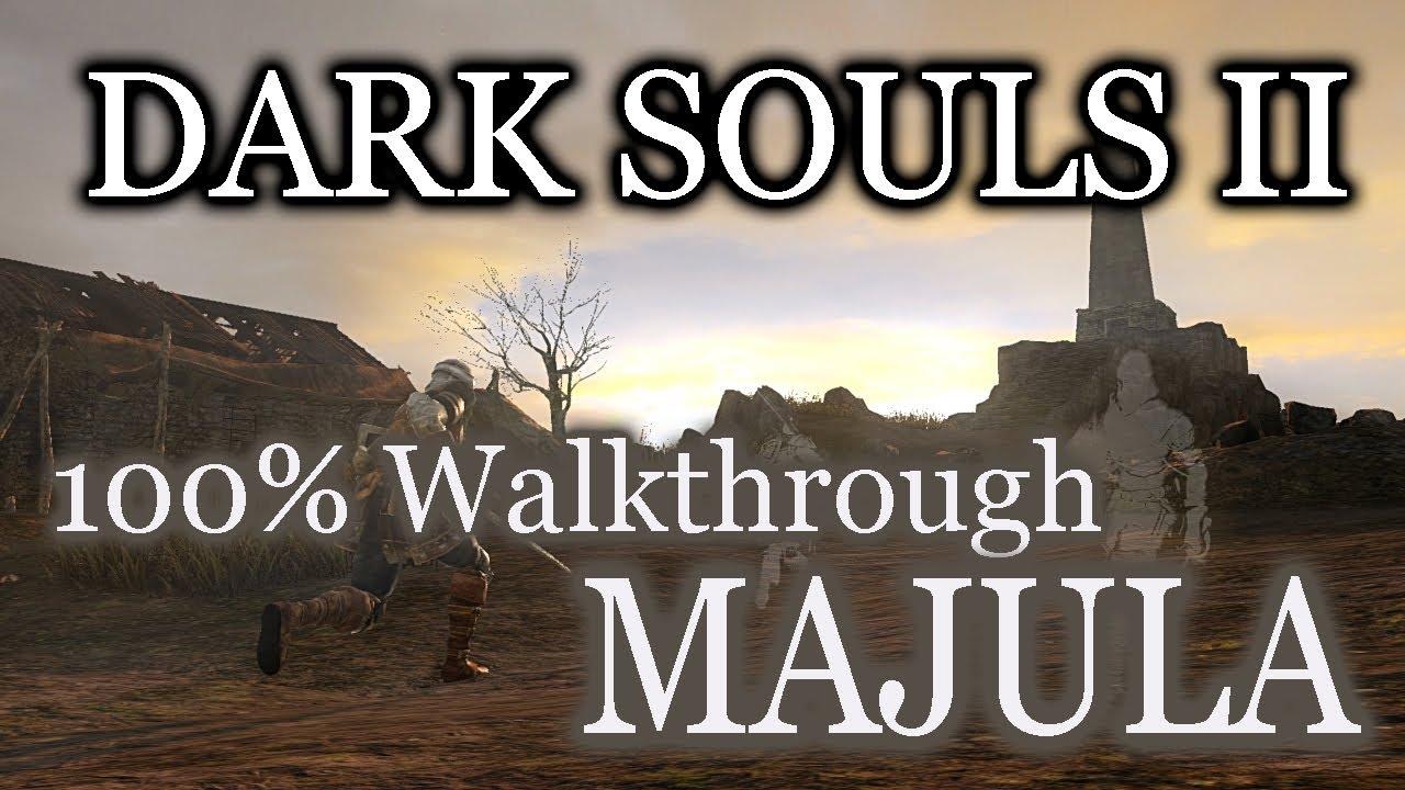 Dark Souls 2 2014 All Cutscenes Walkthrough Gameplay: Dark Souls 2 100% Walkthrough #2 Majula (Best Start) (All