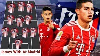 OMG! Atletico De Madrid Starting Line Up With James, Felix 2019