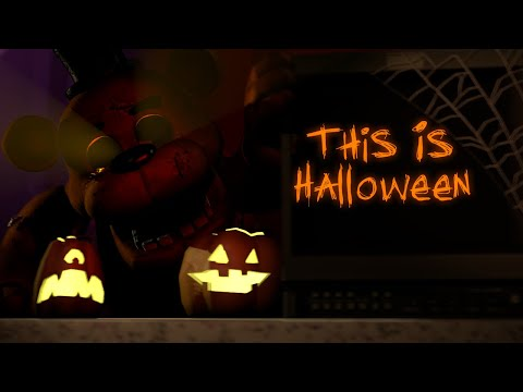 [FNAF SFM] This Is Halloween (Metal Cover)