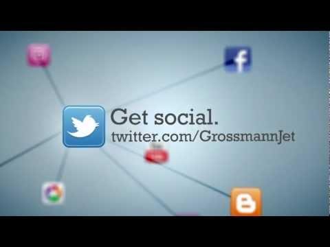 Connect with Grossmann Jet via Social Media