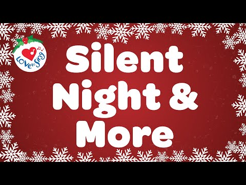 Silent Night and More Christmas Carols and Songs Playlist | Children Love to Sing Kids Songs