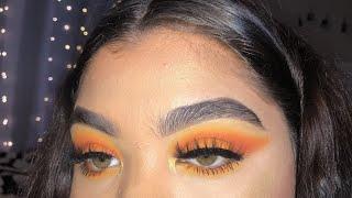 Orange Bright Look | James Charles X Morphe Palette 🎨🧡