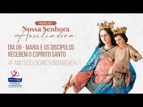 9º DIA | NOVENA DE NOSSA SENHORA AUXILIADORA | TARDE
