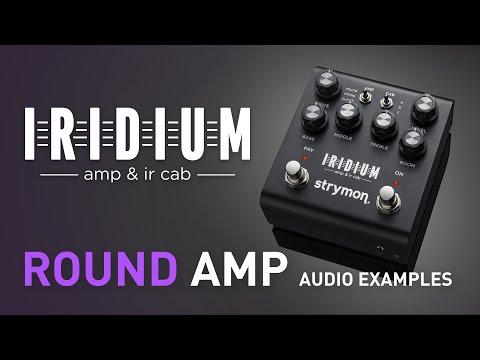 Strymon Iridium Amp & IR Cab Simulator Guitar Pedal