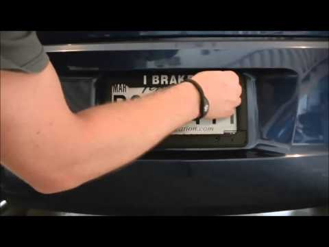 Bell Automotive Personalized License Plate Frame