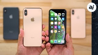 iPhone XS & XS Max Hands on with all of the changes!