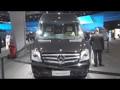 @MercedesBenz Sprinter 519 CDI VIP Shuttle Senzati Bus (2017) Exterior and Interior in 3D