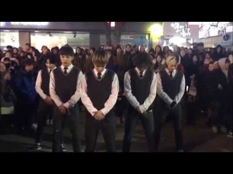 빅뱅(Bigbang) - BANG BANG BANG & Good Boy Dance cover Busking in Hongdae