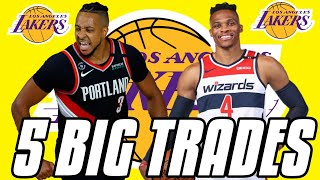 5 BLOCKBUSTER TRADES THE LAKERS COULD MAKE IN 2021! Los Angeles Lakers 2021 Off-Season